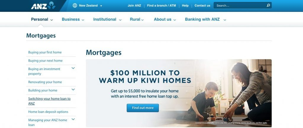 Best Mortgage Rates ANZ Bank New Zealand Limited