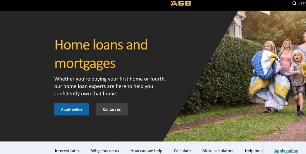 Best Mortgage Rates NZ ASB Bank Limited
